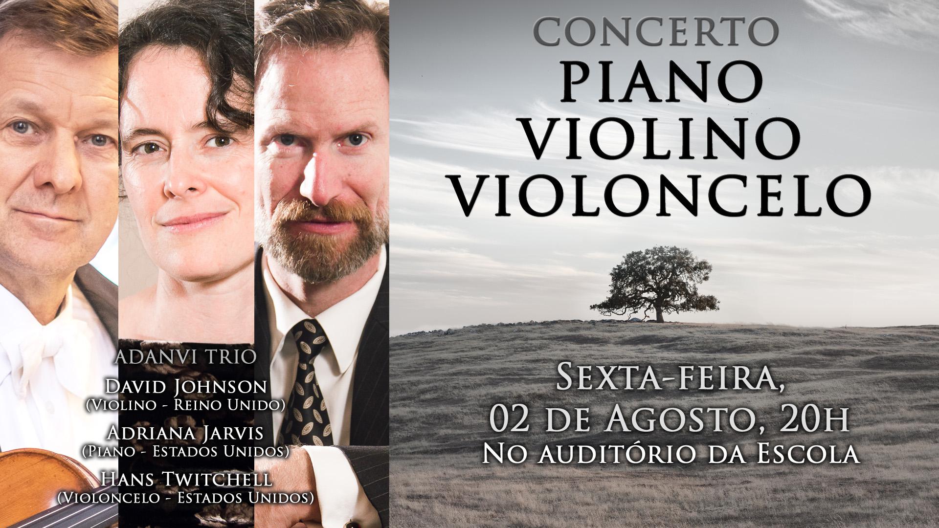 Concerto Piano, Violino e Violoncelo